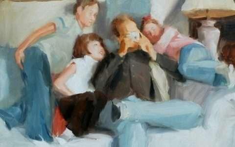Artist: Danny Vigil, Sharing Memories