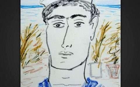 Καλλιτέχνης: Τσαρούχης Γιάννης (λεπτομέρεια)