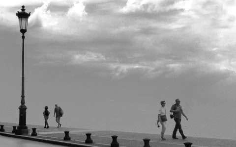 Θεσσαλονίκη, τοπίο στην ομίχλη