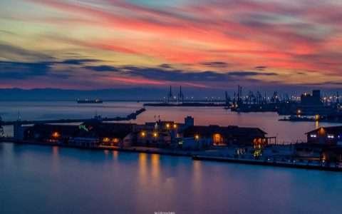 Λιμάνι Θεσσαλονίκης, μοναδικές φωτογραφίες, εξαίσια ατμόσφαιρα!