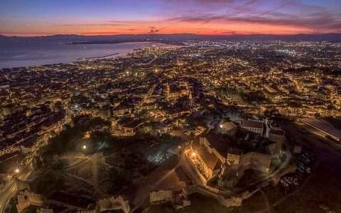 Επταπύργιο (Yedi Koule), το ψηλότερο σημείο, της Βυζαντινής Ακρόπολης, της Θεσσαλονίκης