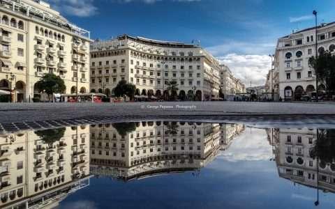 Αριστοτέλους, η ωραιότερη πλατεία της Ελλάδας