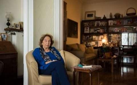 Άλκη Ζέη: δεν θα άλλαζα ούτε μια αράδα απ' τη ζωή μου