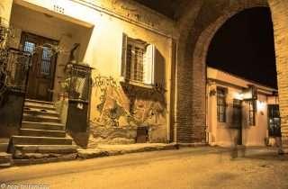 ©Νοπη Τρυφωνιδου:Άνω Πόλη,  εκεί στα σκαλοπάτια