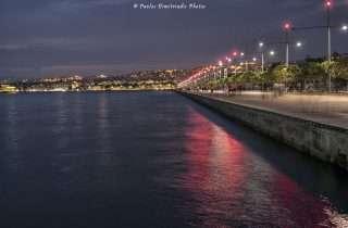 ©Παύλος Δημητριάδης: στη Νέα Παραλία βράδυ