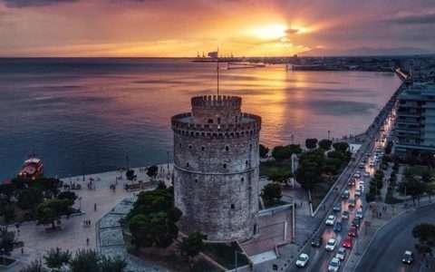 Θεσσαλονίκη Καλοκαίρι βράδυ (βίντεο)