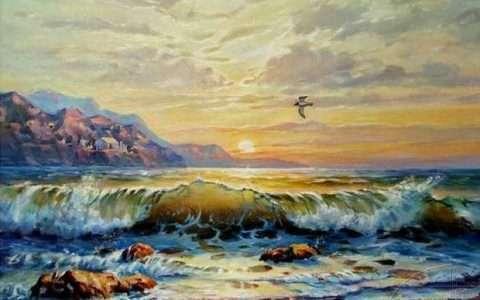 Θάλασσα του πρωϊού, Κ. Π. Καβάφης