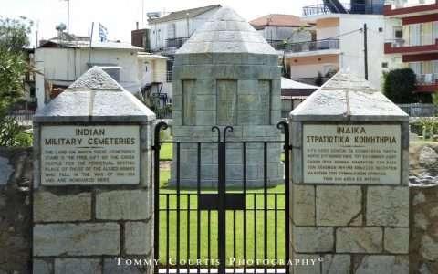 Ινδικά στρατιωτικά κοιμητήρια στη Θεσσαλονίκη!