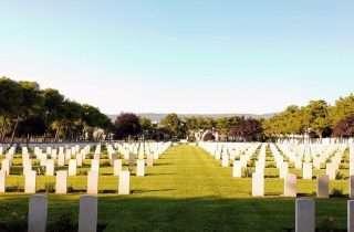 Κοινοπολιτειακό Στρατιωτικό Κοιμητήριο Μίκρας @Sotiris Patsatzakis