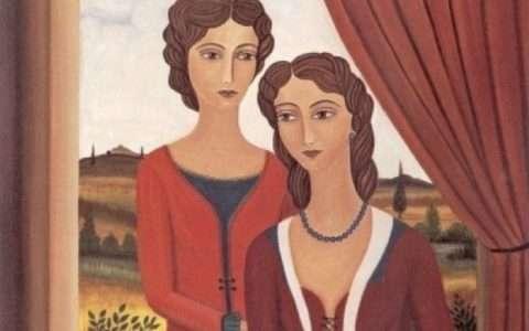 Η Κλειώ και η Δανάη, από τη Μαρία Σκαμπαρδώνη