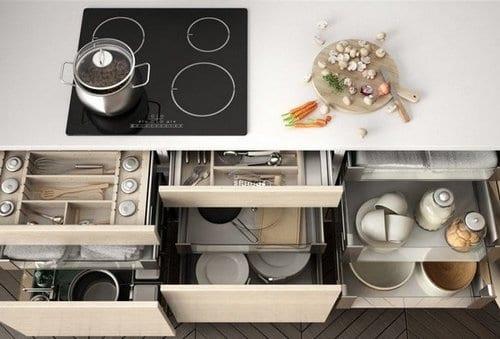 Οργάνωσε τα ντουλάπια της κουζίνας σου σε 3 βήματα!