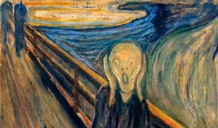 """Η """"κραυγή"""" του Edvard Munch ζωντανεύει σε ένα γρήγορο βιντεάκι"""