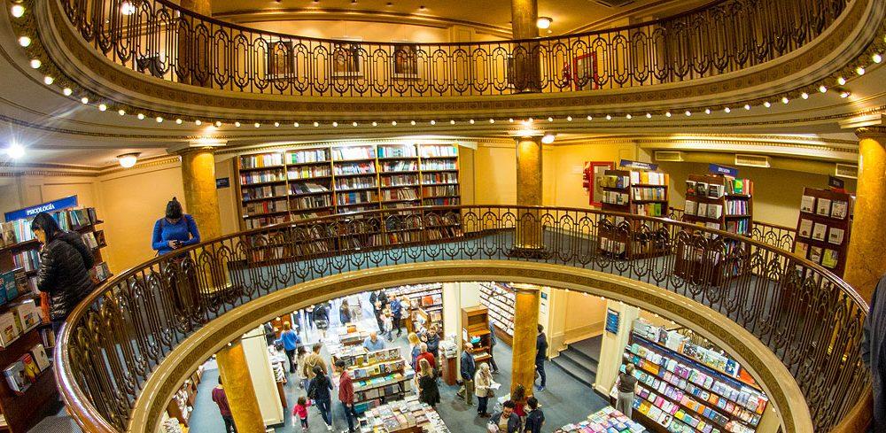 El Ateneo Librería: ένα εκπληκτικό παλιό θέατρο έγινε τεράστιο βιβλιοπωλείο