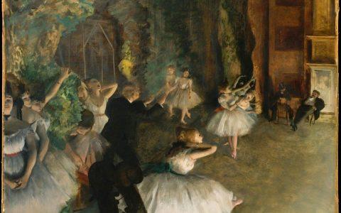 Οι περίφημες μπαλαρίνες του Edgar Degas ζωντανεύουν με Tchaikovsky