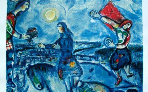 "Marc Chagall: πίνακες που σε κάνουν να ""πετάς"" μέσα τους!"