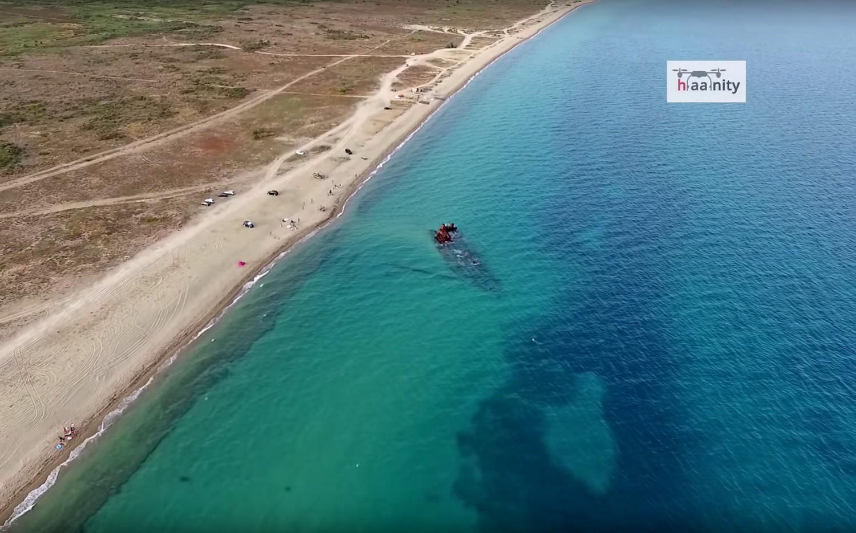 Ναυάγιο Επανομής και Αμμόγλωσα: εικόνες από τις αγαπημένες παραλίες που δεν έχουμε συνηθίσει!