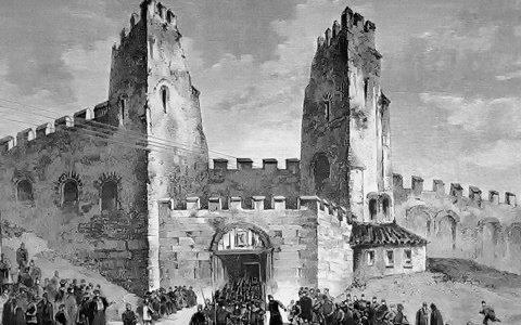 Οι πύλες του τείχους της Θεσσαλονικης σε τρισδιάστατη αναπαράσταση