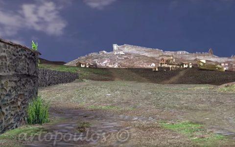 Θεσσαλονίκη: η Εγνατία οδός κατά τη διάρκεια της Ρωμαϊκής περιόδου, σε 3D αναπαράσταση