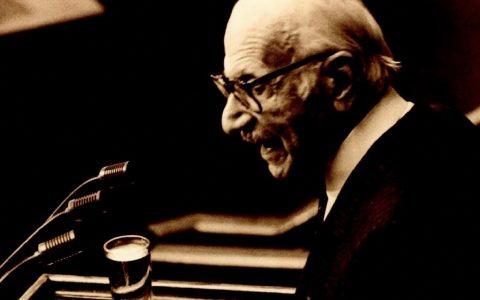 Ξενοφών Ζολώτας: ο αξέχαστος αγγλικός λόγος του,  με ελληνικές λέξεις