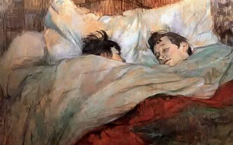 """""""Ζεύγος στο κρεβάτι"""", το μυστηριώδες αριστούργημα του Τουλούζ Λωτρέκ"""