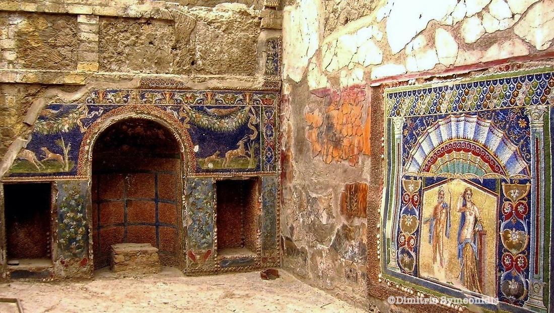 Herculaneum, μια μικρότερη Πομπηία στη Νάπολη