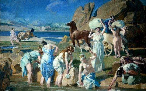 Δημήτρης Μαρωνίτης: ο Οδυσσέας και οι γυναίκες