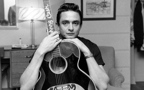 """Johnny Cash: """"A solitary man ... in black"""""""