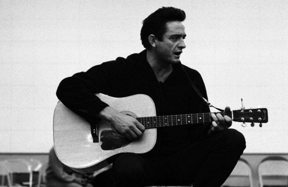 "Johnny Cash: ""A solitary man ... in black"""