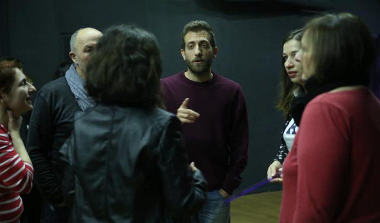 """Αλέξανδρος Νικολαΐδης: """"Είμαι πανευτυχής που βλέπω ανθρώπους να κοιτούν ο ένας τον άλλον στα μάτια"""""""