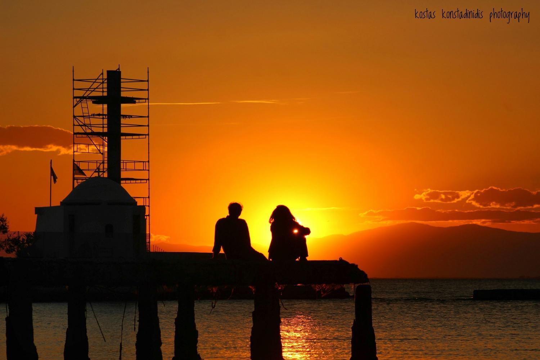 Θεσσαλονίκη, μαγικά ηλιοβασιλέματα! Από τον Κώστα Κωνσταντινίδη