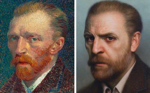 Αυτός ο καλλιτέχνης δίνει ανθρώπινη μορφή σε διάσημα έργα τέχνης