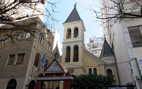 Αρμένικη Εκκλησία στη Θεσσαλονίκη, δημιουργία του Vitaliano Poselli