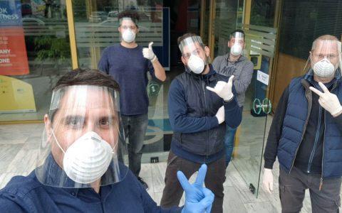 Όταν εθελοντές στη Θεσσαλονίκη προσφέρουν πολύτιμο έργο: Covid-19 Response Greece