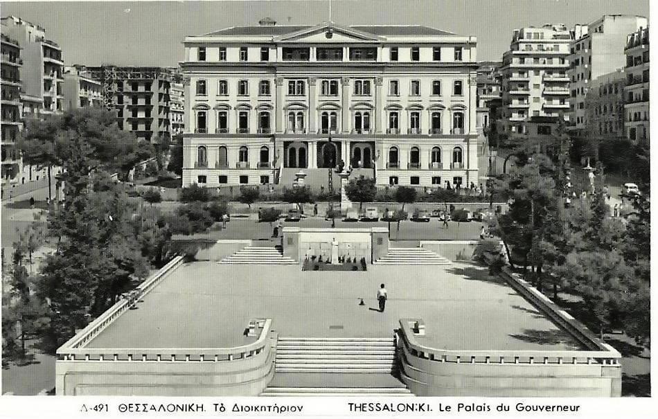 Διοικητήριο Θεσσαλονίκης, ένα αριστούργημα του Vitaliano Poselli