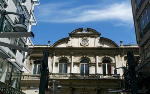 Στοά Μαλακοπή (Τράπεζα Θεσσαλονίκης), δημιούργημα του Vitaliano Poselli