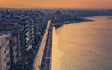 Θεσσαλονίκη, άδεια πόλη