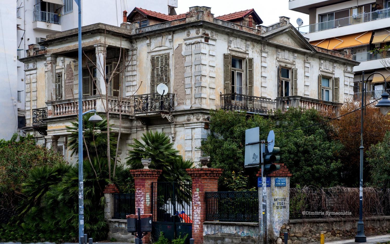 Έπαυλη Σιάγα (πρώην Χατζηλαζάρου), μια δημιουργία του Παιονίδη με μεγάλη ιστορία - Thessaloniki Arts and Culture