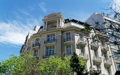 Ξενοδοχείο Excelsior, πανέμορφο, ιστορικό και σχεδιασμένο από τον  Joseph Pleyber