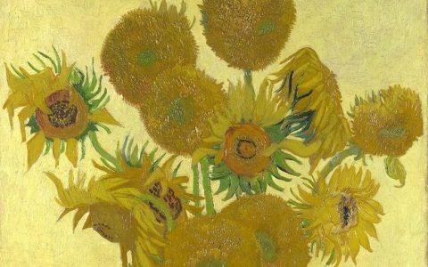 Ζωγράφισε τα ηλιοτρόπια του Van Gogh σε 6΄ μόνο!