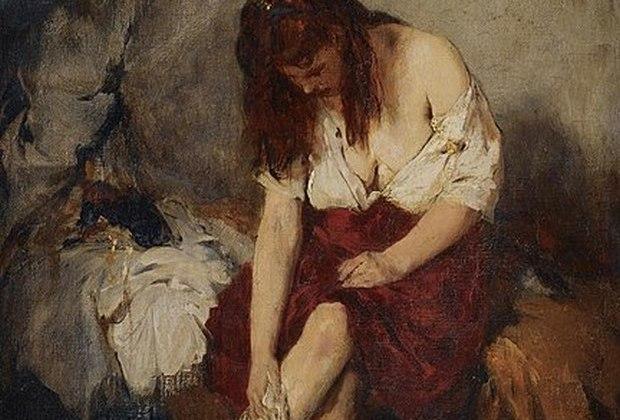 Τη βλέπει να κάνει μπάνιο, από τη Μαρία Σκαμπαρδώνη