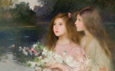 Joan Brull: μια υπέροχη συλλογή από 30 πίνακες με τη συνοδεία πιάνου!