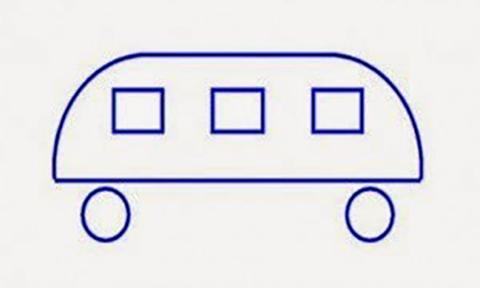 Πού πηγαίνει το λεωφορείο; Ένα «προσχολικό» τεστ για μεγάλα παιδιά!