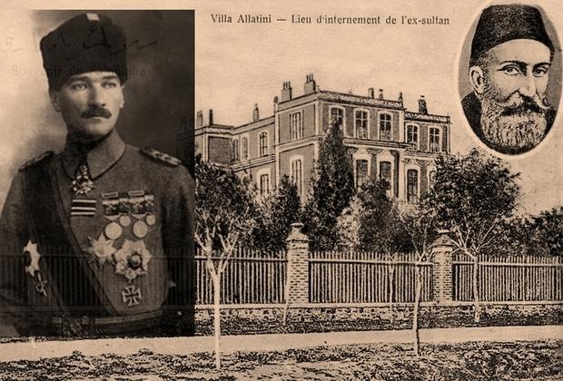 Πώς ο Κεμάλ φυλάκισε τον σουλτάνο στην Θεσσαλονίκη