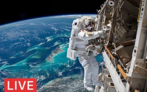 Βλέπουμε ζωντανά τους αστροναύτες εν δράσει!