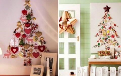 15 ιδιαίτερα χριστουγεννιάτικα δέντρα φτιαγμένα από τα χέρια σας!