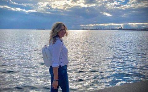 Η αγαπημένη μας συγγραφέας Ιωάννα Γκανέτσα στο 40ο Φεστιβάλ Βιβλίου Θεσσαλονίκης