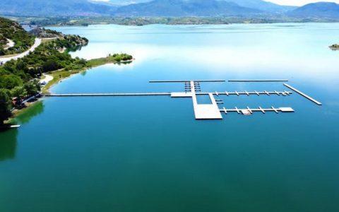 Ναυτικός Όμιλος Κοζάνης στην τεχνητή λίμνη Πολυφύτου