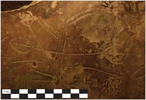 Τα πετρογλυφικά στο Σπήλαιο Ασφέντου, στα Σφακιά της Κρήτης