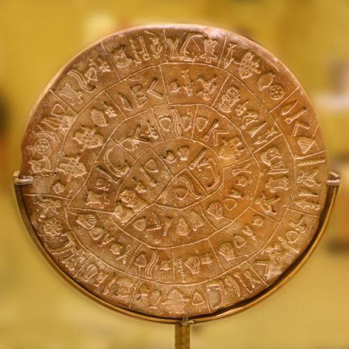 Ο Δίσκος της Φαιστού: Η πρώτη μορφή τυπογραφίας