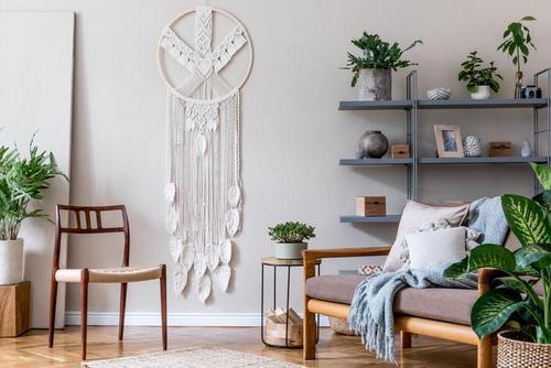 Μακραμέ τοίχου: 4 top ιδέες & υλικά για να το φτιάξεις!